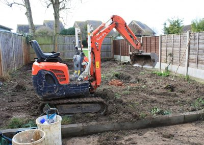 Baldock garden dig out