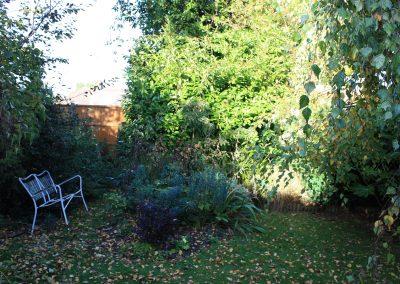 Barnet garden before work began