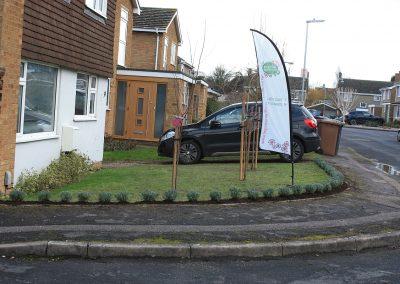 Baldock front garden planting design