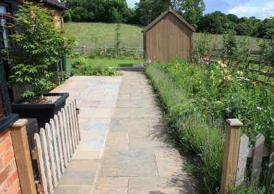 Front garden transformed