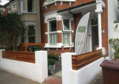 Front garden planting design
