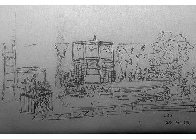Rough sketch 20.5.19