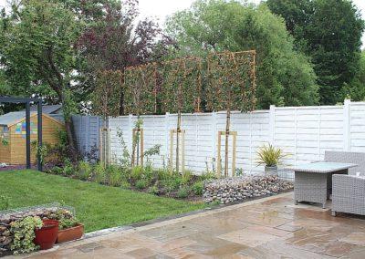 Harrow family garden