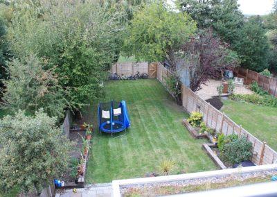 Harrow garden before installation