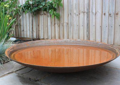Corten bowl